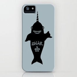 GNARWHAL iPhone Case