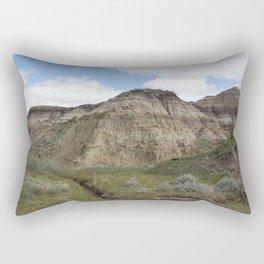 Horseshoe Canyon 3 Drumheller Badlands Rectangular Pillow