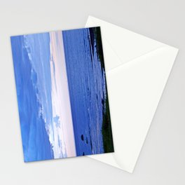 Blue on Blue at the River Mouth Stationery Cards