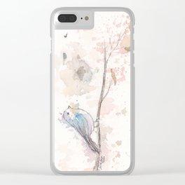 Bird II Clear iPhone Case