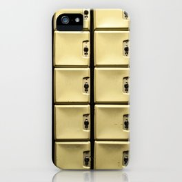 Lonely Lockers iPhone Case