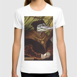 High Chancellor Crocwell portrait T-shirt