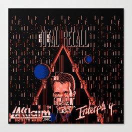 Total ReGlitch Canvas Print