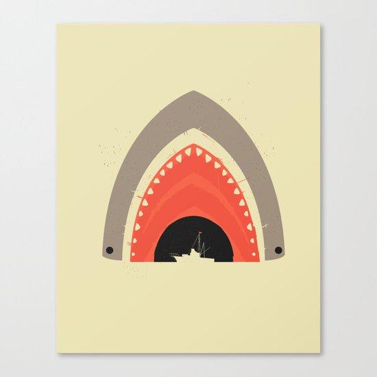 Great White Bite Canvas Print