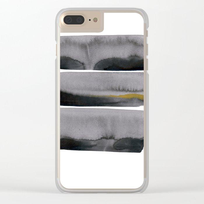 t h r e e Clear iPhone Case