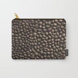 Pebble Stone Texture Carry-All Pouch