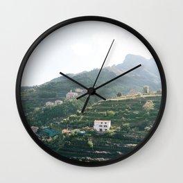 Beautiful Italy | Travel photography art print photo Wall Clock
