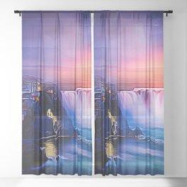 High in the Air Sheer Curtain