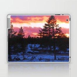 Norris Sunset Laptop & iPad Skin