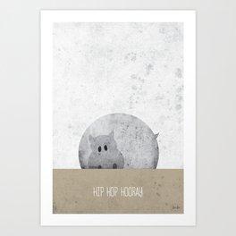 Hip Hop Hooray Art Print