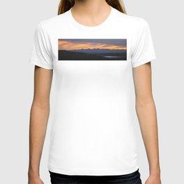 Colorado Vista Sunset Panorama T-shirt