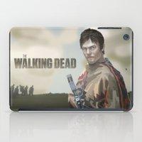 walking dead iPad Cases featuring The Walking Dead by ketizoloto