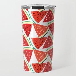 Sliced Watermelon Travel Mug