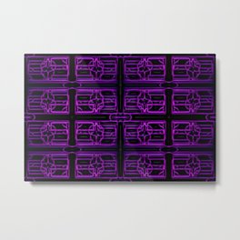 Colorandblack series 777 Metal Print