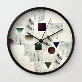 Of Fragments and Wholes Wall Clock