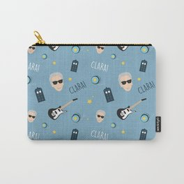 Twelve Doctor Who pattern Carry-All Pouch