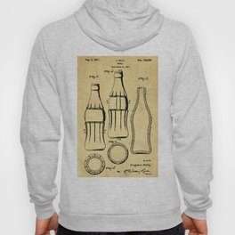 Bottle Support Patent Drawing From 1937 Hoody