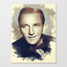 Bing Crosby, Hollywood Legend Canvas Print
