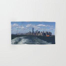 New York City Skyscrapers Landscape Hand & Bath Towel