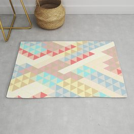 Harlequin Pale Background Rug