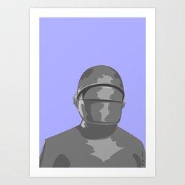 Gort Art Print