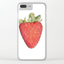 Summerberry Clear iPhone Case