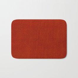 Red Watercolor Square Bath Mat