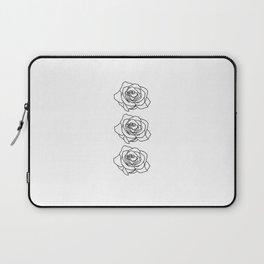 Rose Noire Laptop Sleeve