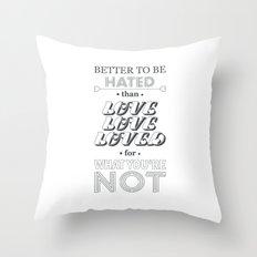 I Am Not A Robot ; Marina and the Diamonds (alternative II) Throw Pillow