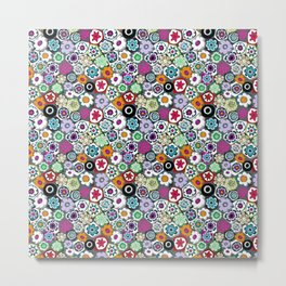Millefiori (color 2) Metal Print