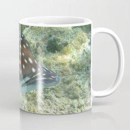 Watercolor Ray, Spotted Eagle Ray 20, St John, USVI Coffee Mug