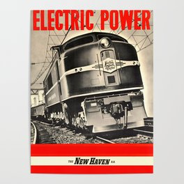 Electric Power Poster