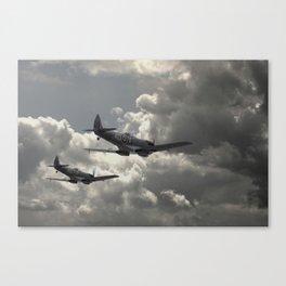 Spitfire Wingman Canvas Print