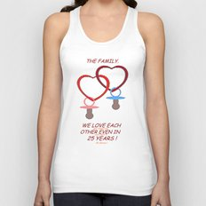 LOVE AND FUTURE. Unisex Tank Top