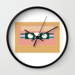 Nectarine Vintage 90s Cassette Tape Wall Clock