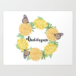 #Bookstagram Art Print