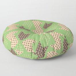 Clover&Nessie Pistachio/Mocha Floor Pillow