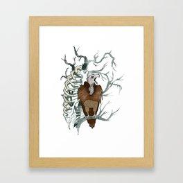October Framed Art Print