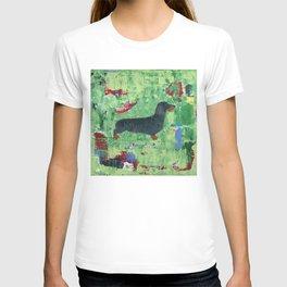 Dachshund Weiner Dog Painting T-shirt
