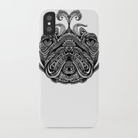 henna iPhone & iPod Cases featuring Henna of Pugly by Huebucket