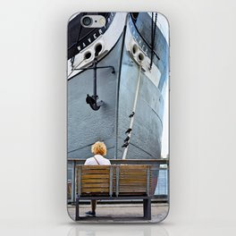 Waiting for Adventure iPhone Skin