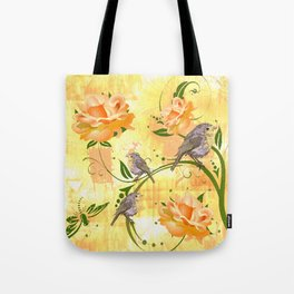 The Sparrow's Melody Tote Bag