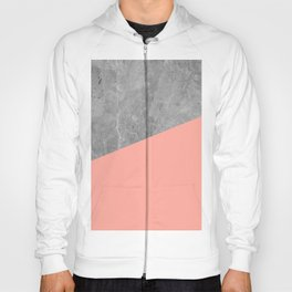 Simply Concrete Dogwood Pink Hoody