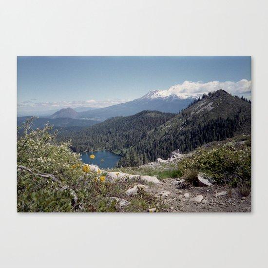 Mt Shasta Canvas Print