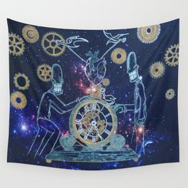 Time Keepers Wall Tapestry