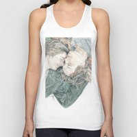 fault in our stars Tank Tops featuring THE FAULT IN OUR STARS by Melissa Bather