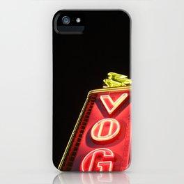 Vog(ue) Vancouver iPhone Case