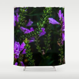 Electric Purple Shower Curtain