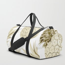 Gold Pineapple Party Duffle Bag
