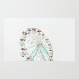 Ferris Wheel Abstract Rug